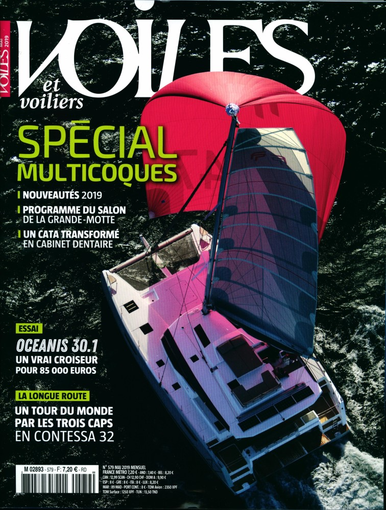 Voiles et voiliers N° 579 Avril 2019