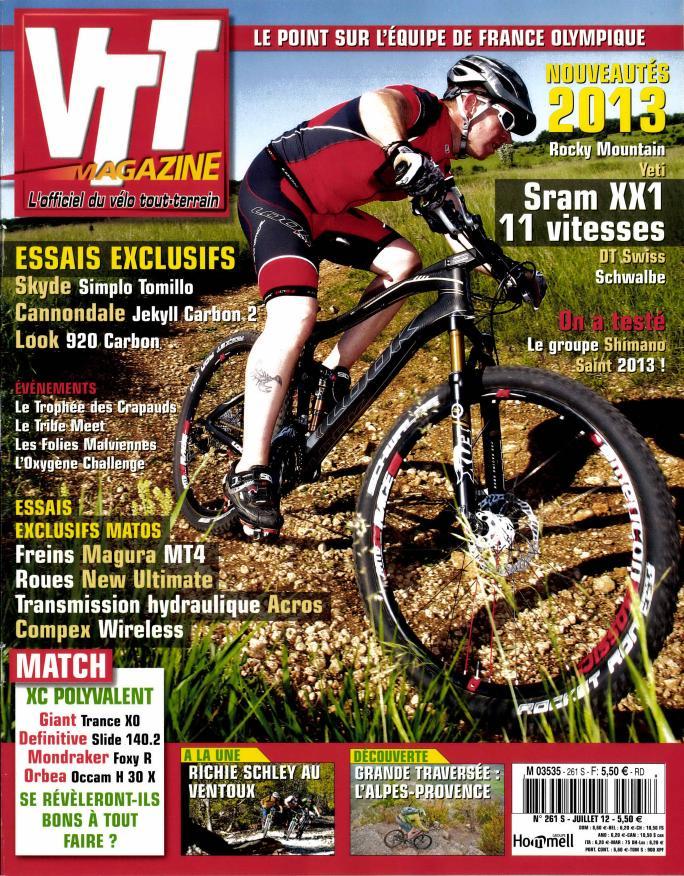 VTT magazine N° 328 Juillet 2018