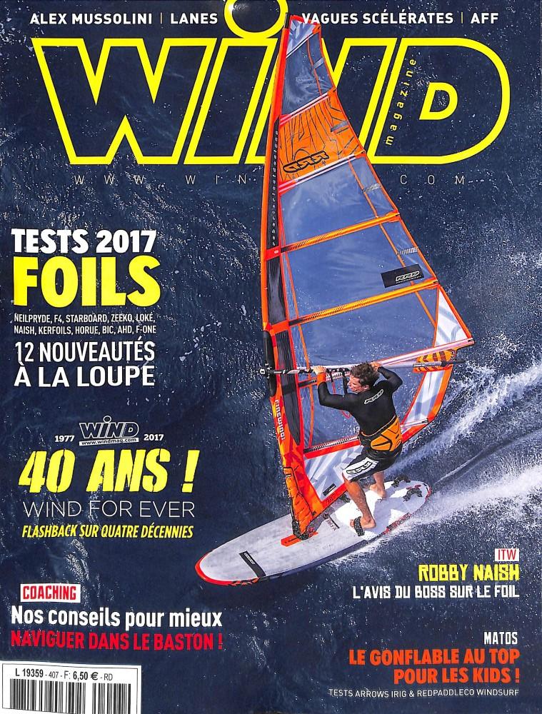 Wind Magazine N° 407 Juin 2017