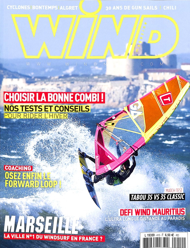 Wind Magazine N° 412 March 2018