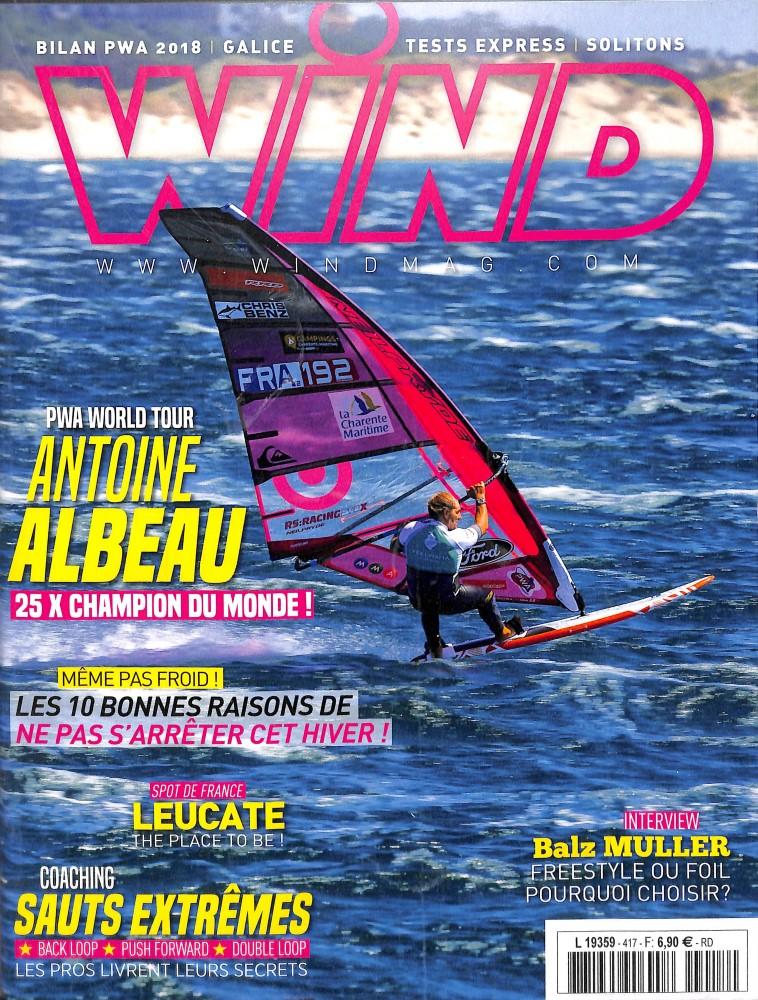 Wind Magazine N° 417 October 2018