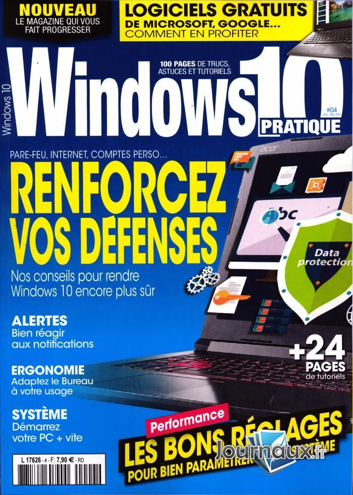 Windows 10 Pratique  N° 4 Décembre 2019