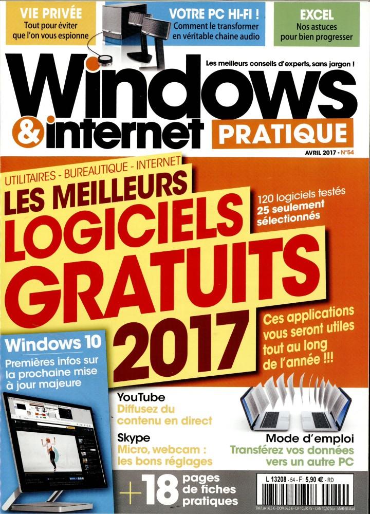 Windows et internet pratique N° 54 Mars 2017