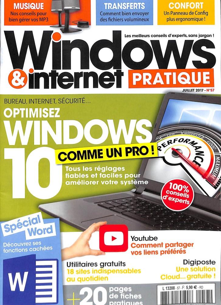 Windows et internet pratique N° 58 Juillet 2017