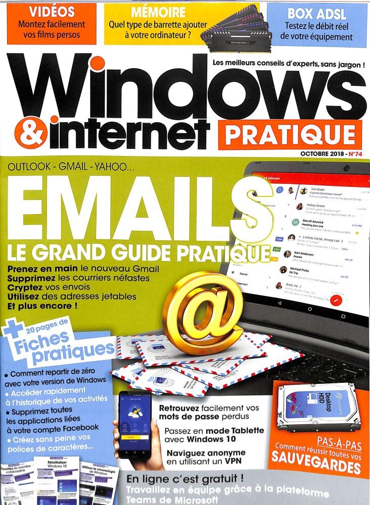 Windows et internet pratique N° 74 September 2018