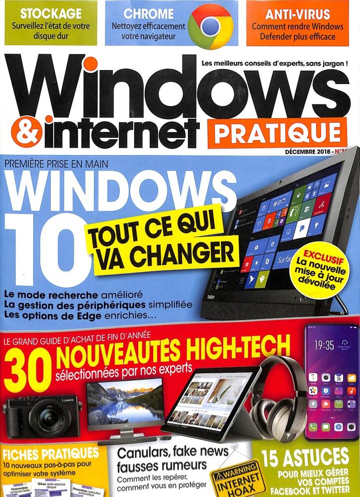 Windows et internet pratique N° 76 November 2018