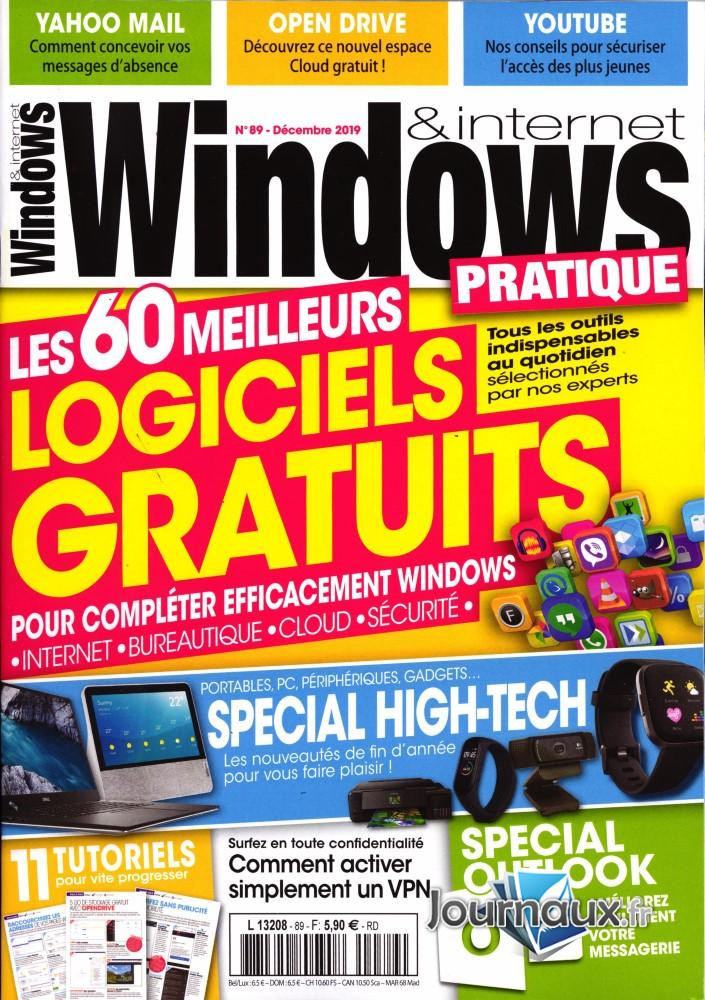 Windows et internet pratique N° 91 Janvier 2020