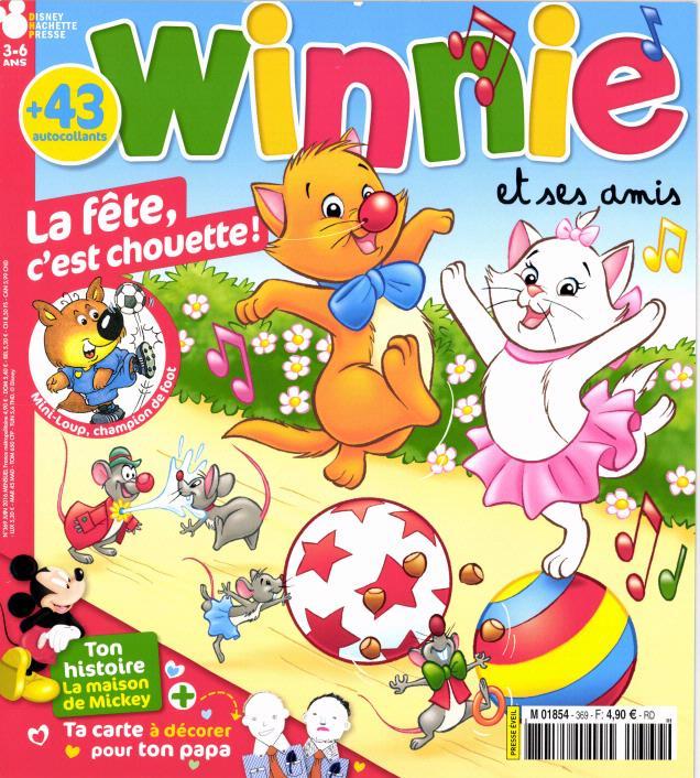 abonnement magazine winnie
