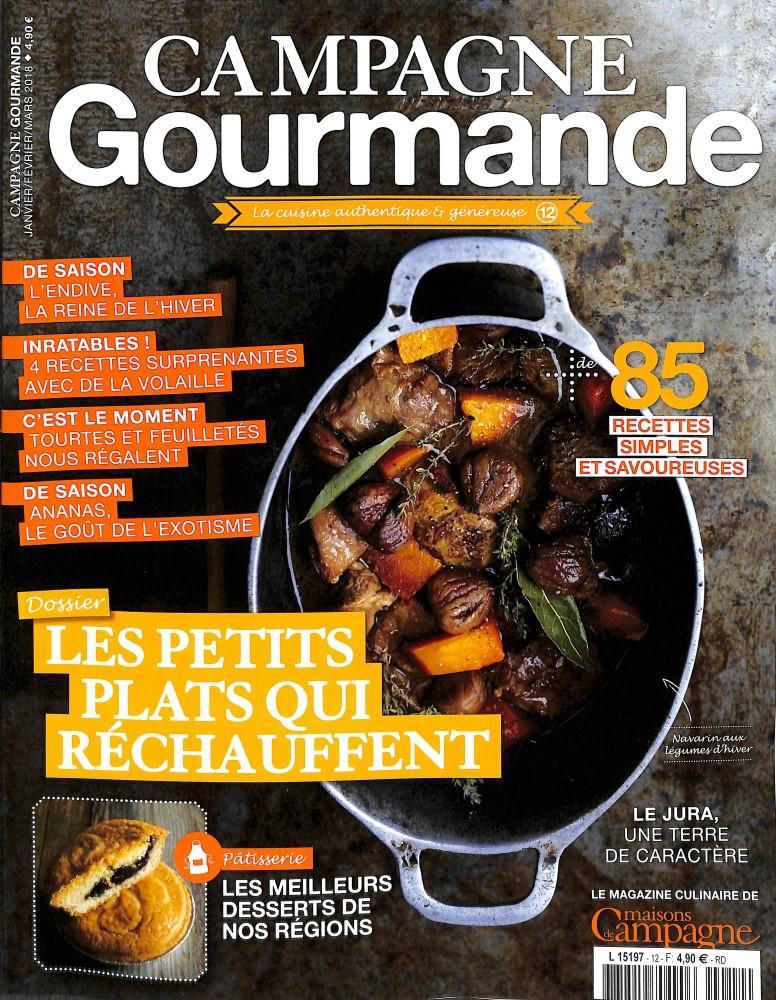 Campagne gourmande N° 12 January 2018