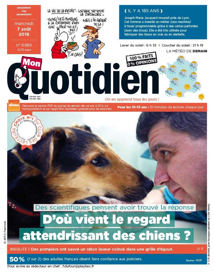 Mon Quotidien N° 42 Mars 2013