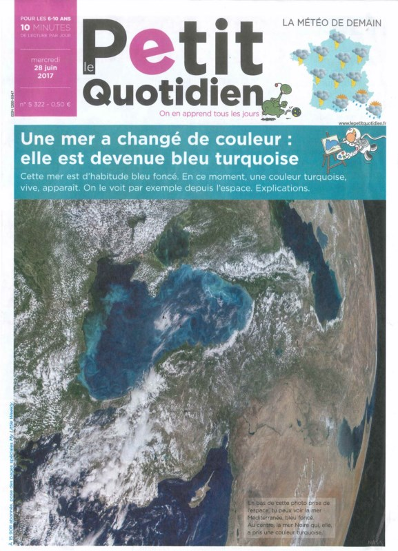 Le Petit Quotidien N° 57 Juin 2017