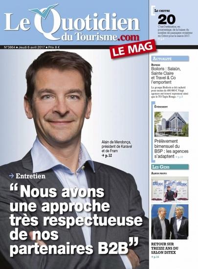 Le quotidien du tourisme.com le mag N° 3661 Décembre 2012