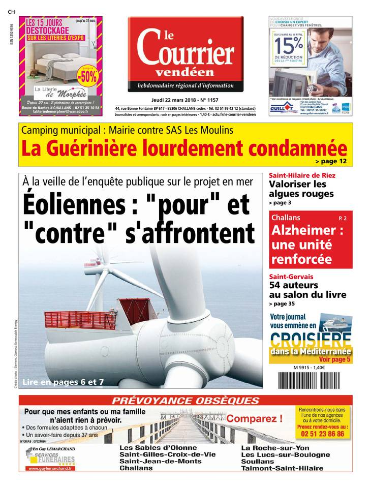 Le courrier vendéen March 2013