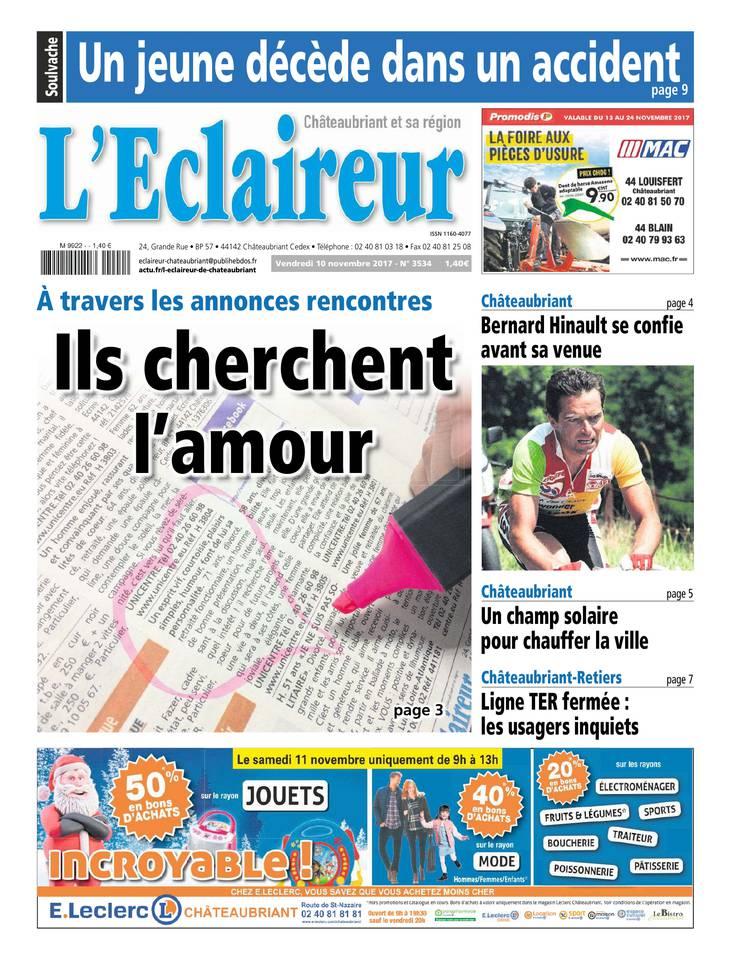 L'éclaireur de Châteaubriant Mars 2013