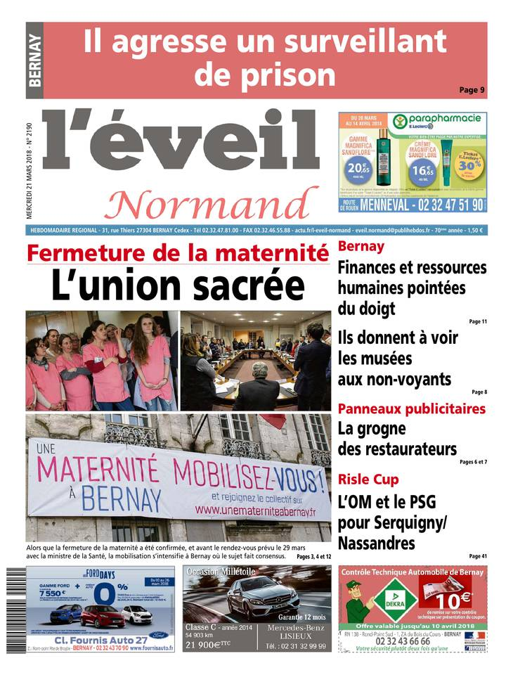 L'éveil normand March 2013