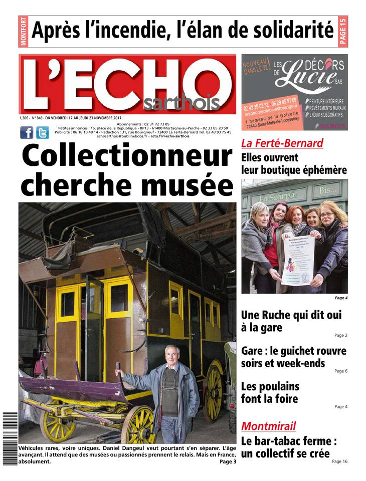 L'écho sarthois March 2013