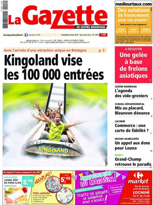 Gazette du Centre Morbihan Janvier 2013