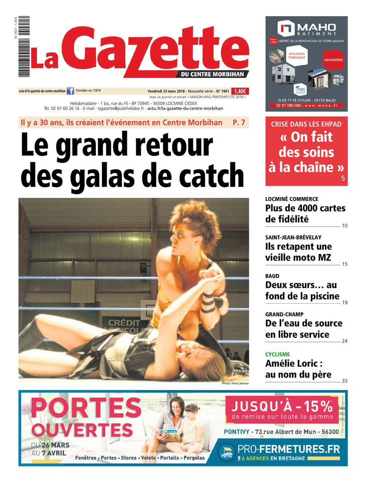 La gazette du Centre Morbihan January 2013