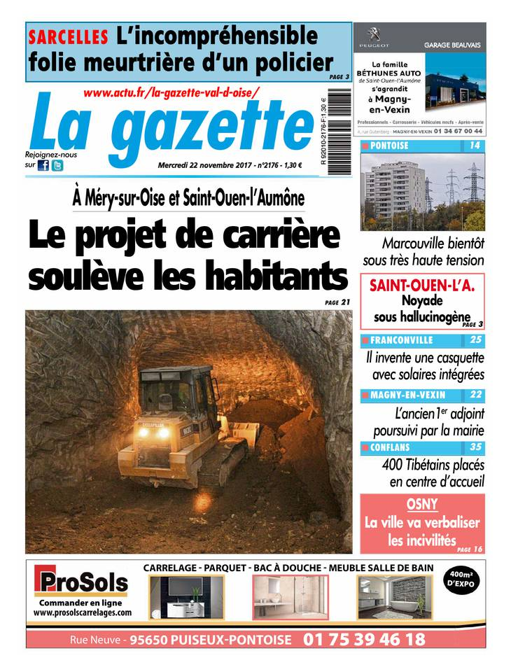 La Gazette du Val d'Oise March 2013