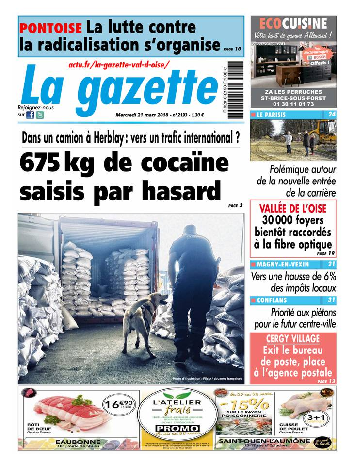 La Gazette du Val d'Oise March 2013