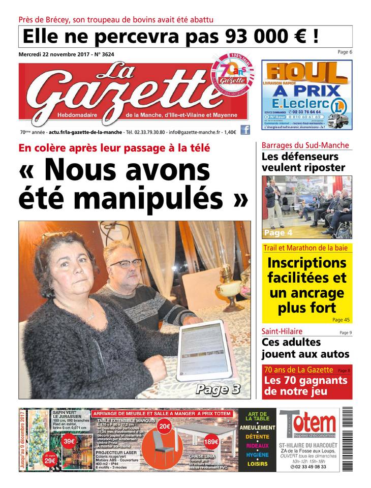 La Gazette de la Manche March 2013