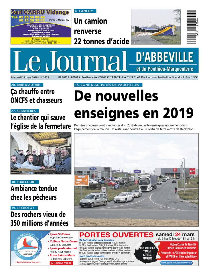 Le journal d'Abbeville March 2013