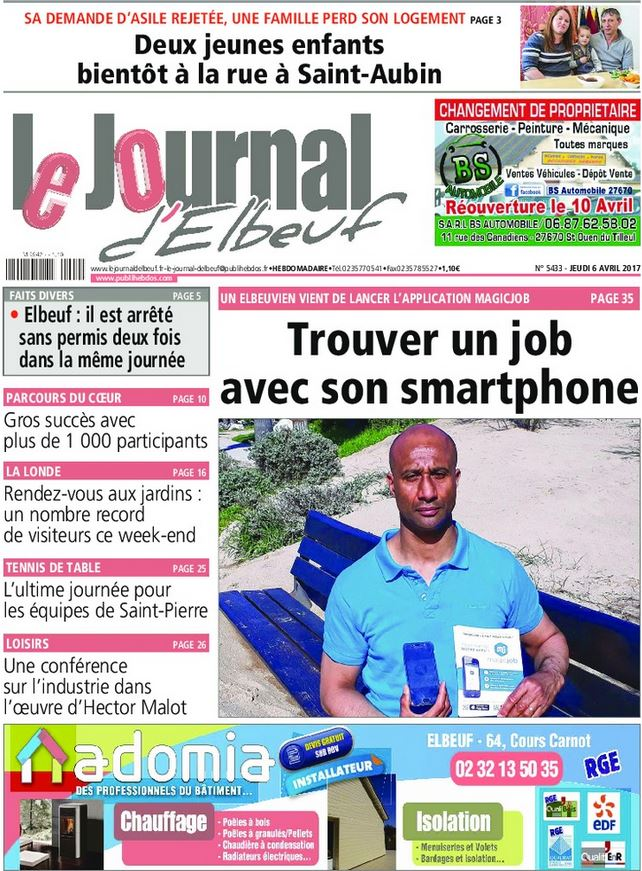 Le journal d'Elbeuf Mars 2013