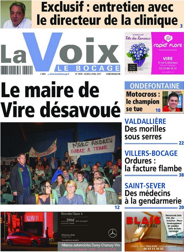 La Voix Le Bocage Mars 2013