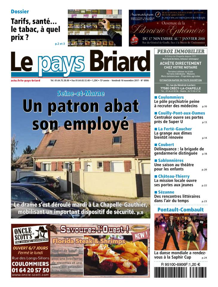 Le Pays Briard March 2013