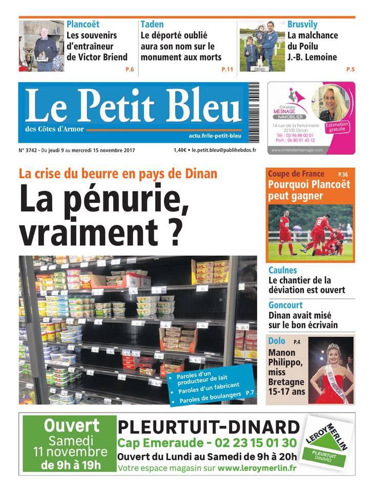 Le Petit Bleu January 2013