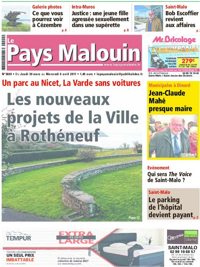 Le Pays Malouin Janvier 2013
