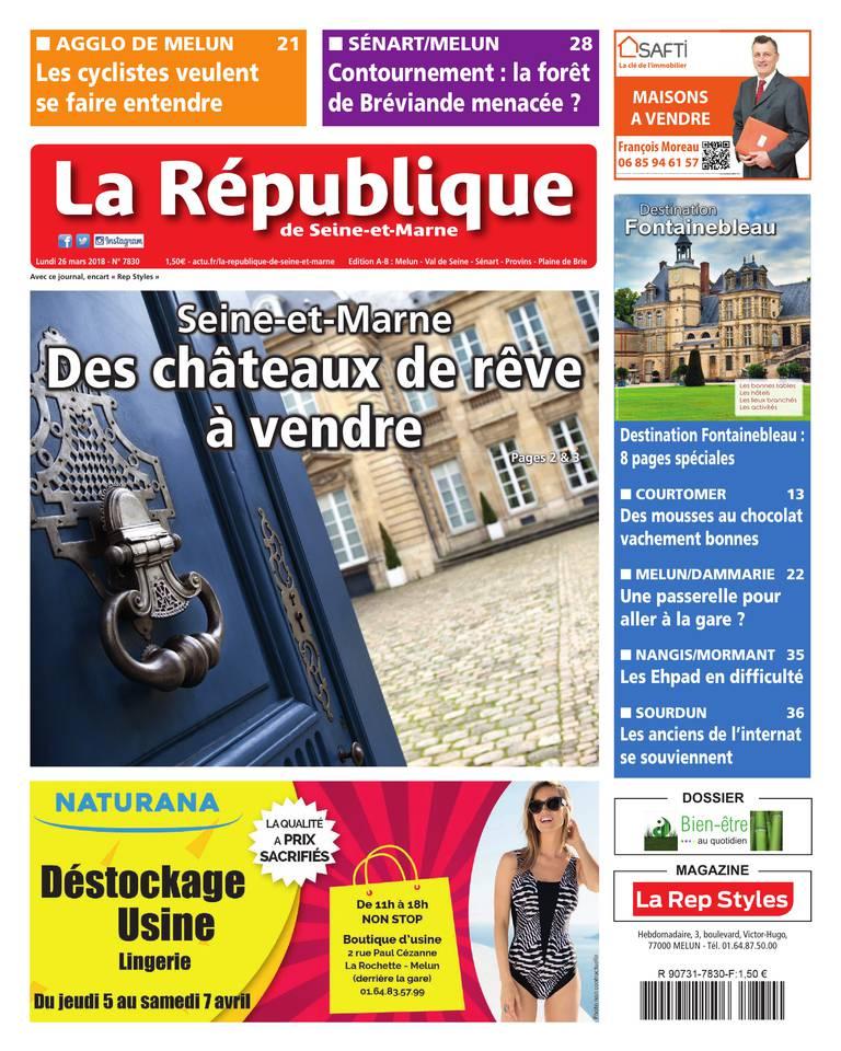 La République de Seine-et-Marne March 2013