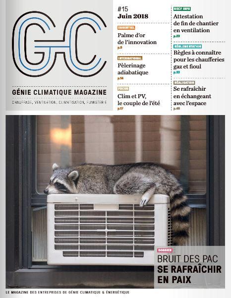 Génie climatique magazine Octobre 2013